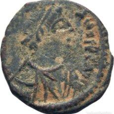 Monedas Imperio Bizantino: IMPERIO BIZANTINO! JUSTINIANO I, 527-565! PENTANUMMI (BRONCE)! MBC+ ESCASA. Lote 117031587