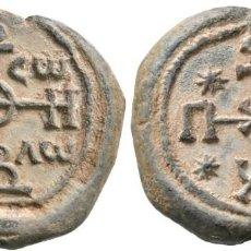 Monedas Imperio Bizantino: IMPERIO BIZANTINO! SELLO BIZANTINO DE PLOMO ANÓNIMO!! EBC+ APROXIMADAMENTE SIGLO VII - VIII. RARA. Lote 117046091