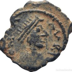 Monedas Imperio Bizantino: IMPERIO BIZANTINO! JUSTINIANO I 527-565! AE PENTANUMMI (5 NUMMI). 1.5G EBC-. Lote 117486247