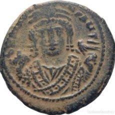 Monedas Imperio Bizantino: BIZANCIO! TIBERIO II CONSTANTINO, 578-582 FOLLIS (BRONCE)! ANTIOQUIA! EBC-. Lote 118095635