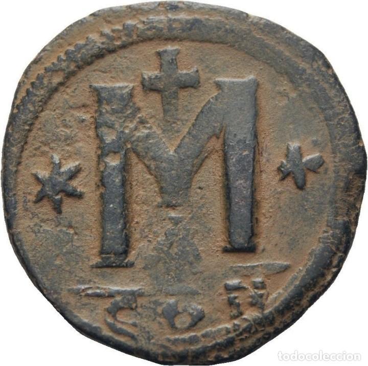 IMPERIO BIZANTINO! ANASTASIO, 491-518 FOLLIS (BRONCE)! CONSTANTINOPLA! EBC- (Numismática - Periodo Antiguo - Imperio Bizantino)
