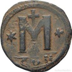 Monedas Imperio Bizantino: IMPERIO BIZANTINO! ANASTASIO, 491-518 FOLLIS (BRONCE)! CONSTANTINOPLA! EBC-. Lote 118097931