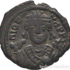 Monedas Imperio Bizantino: IMPERIO BIZANTINO! TIBERIO II CONSTANTINO. 578-582. Æ DECANUMMIUM. ANTIOQUÍA. ESCASO. EBC. Lote 119286799