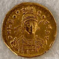 Monedas Imperio Bizantino: SÓLIDO DE LEÓN I (457-468 D.C) - CONSTANTINOPLA - 4,06 GR ORO - EBC. Lote 137308746
