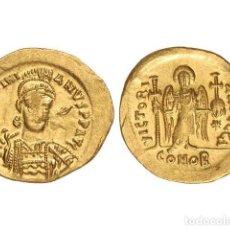 Monedas Imperio Bizantino: MONEDAS BIZANTINAS, SÓLIDO., CONSTANTINOPLA.. Lote 138762390