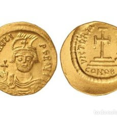 Monedas Imperio Bizantino: MONEDAS BIZANTINAS, SÓLIDO., CONSTANTINOPLA.. Lote 138762406