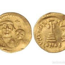 Monedas Imperio Bizantino: MONEDAS BIZANTINAS, SÓLIDO., CONSTANTINOPLA.. Lote 138762410