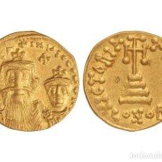 Monedas Imperio Bizantino: MONEDAS BIZANTINAS, SÓLIDO., CONSTANTINOPLA.. Lote 138762422