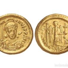 Monedas Imperio Bizantino: MONEDAS BIZANTINAS, SÓLIDO., CONSTANTINOPLA.. Lote 138766545