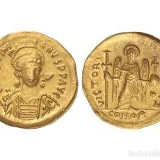 Monedas Imperio Bizantino: MONEDAS BIZANTINAS, SÓLIDO., CONSTANTINOPLA.. Lote 138766549