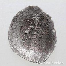 Monedas Imperio Bizantino: MANUEL I COMNENUS.MONEDA DE PLATA!! ASPRON TRACHY.AÑOS 1143-1180.PRECIOSA,MIRAD Y LEED!!! . Lote 140741978
