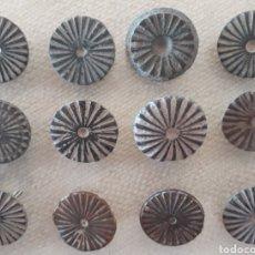 Monedas Imperio Bizantino: LOTE BOTONES DE BRONCE. Lote 145967564