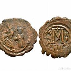 Monedas Imperio Bizantino: RARA MONEDA ROMANA GRIEGA BIZANTINA REF 742. Lote 146148033