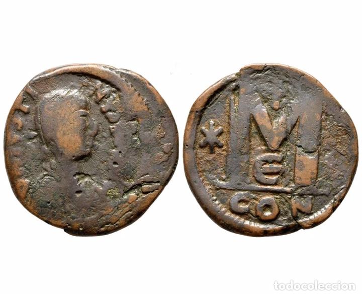 RARA MONEDA ROMANA GRIEGA BIZANTINA REF 842 (Numismática - Periodo Antiguo - Imperio Bizantino)