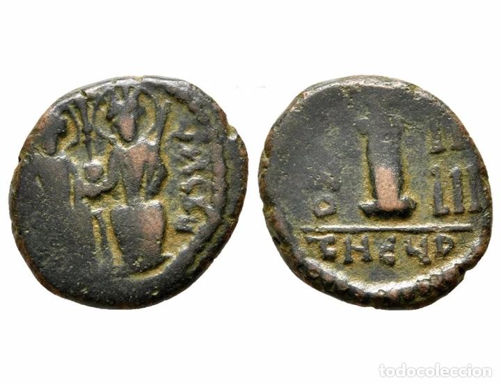 RARA MONEDA ROMANA GRIEGA BIZANTINA REF 8538 (Numismática - Periodo Antiguo - Imperio Bizantino)