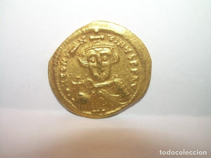 Monedas Imperio Bizantino: SOLIDO DE ORO....CONSTAN II. (641 - 668 ). - Foto 3 - 146656538