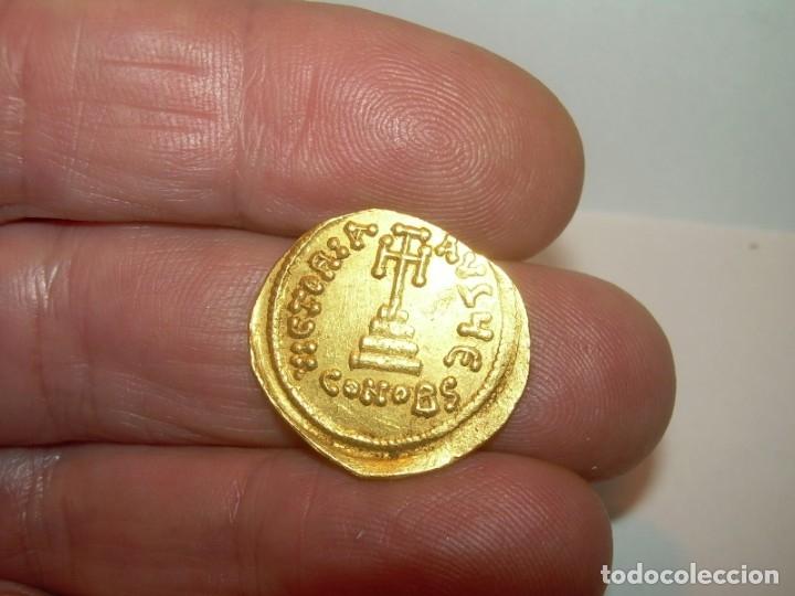 Monedas Imperio Bizantino: SOLIDO DE ORO....CONSTAN II. (641 - 668 ). - Foto 9 - 146656538
