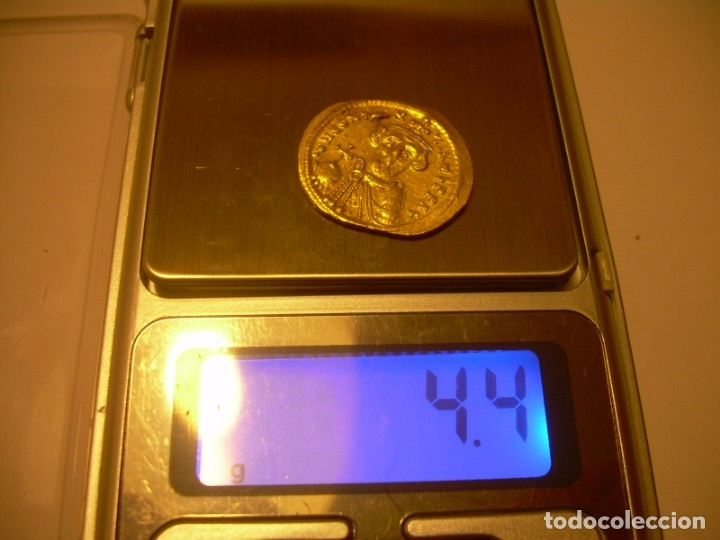 Monedas Imperio Bizantino: SOLIDO DE ORO....CONSTAN II. (641 - 668 ). - Foto 10 - 146656538