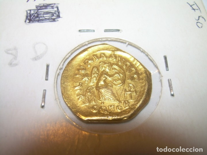 Monedas Imperio Bizantino: TREMISIS DE ORO......JUSTINO II.....(CONSTANTINOPLA). - Foto 6 - 146657594