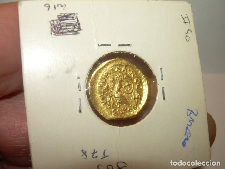 Monedas Imperio Bizantino: TREMISIS DE ORO......JUSTINO II.....(CONSTANTINOPLA). - Foto 9 - 146657594