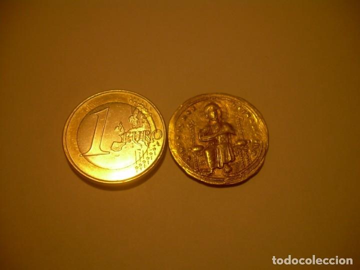 Monedas Imperio Bizantino: MONEDA BIZANTINA DE ORO....STAMENON NOMISMA...ROMANUS III..(1028-1034)..CONSTANTINOPLA. - Foto 8 - 149512970