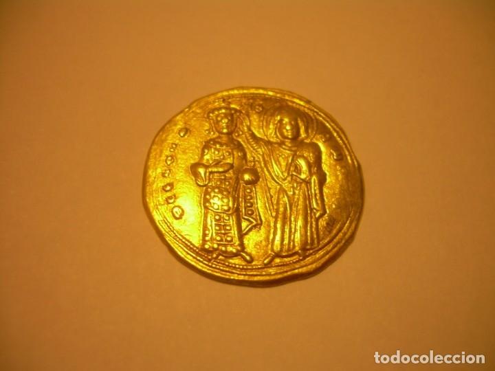 Monedas Imperio Bizantino: MONEDA BIZANTINA DE ORO....STAMENON NOMISMA...ROMANUS III..(1028-1034)..CONSTANTINOPLA. - Foto 11 - 149512970