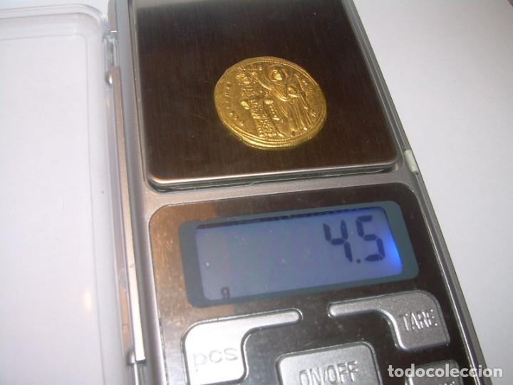 Monedas Imperio Bizantino: MONEDA BIZANTINA DE ORO....STAMENON NOMISMA...ROMANUS III..(1028-1034)..CONSTANTINOPLA. - Foto 9 - 149512970