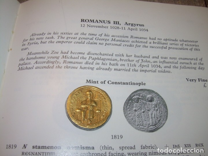 Monedas Imperio Bizantino: MONEDA BIZANTINA DE ORO....STAMENON NOMISMA...ROMANUS III..(1028-1034)..CONSTANTINOPLA. - Foto 19 - 149512970