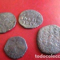Monedas Imperio Bizantino: BONITO LOTE DE 4 MONEDAS BIZANTINAS. . Lote 149557194