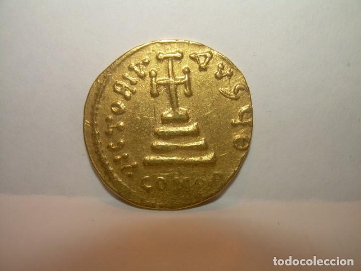 Monedas Imperio Bizantino: MONEDA DE... ORO... BIZANTINA.....SOLIDO HERACLIO (610-641). - Foto 2 - 149691030