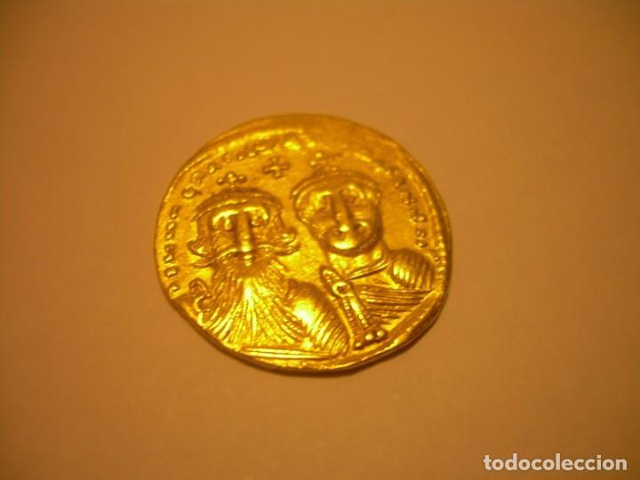 Monedas Imperio Bizantino: MONEDA DE... ORO... BIZANTINA.....SOLIDO HERACLIO (610-641). - Foto 3 - 149691030