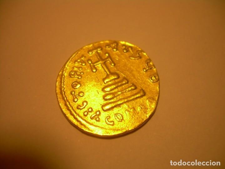 Monedas Imperio Bizantino: MONEDA DE... ORO... BIZANTINA.....SOLIDO HERACLIO (610-641). - Foto 4 - 149691030