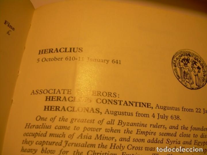 Monedas Imperio Bizantino: MONEDA DE... ORO... BIZANTINA.....SOLIDO HERACLIO (610-641). - Foto 8 - 149691030