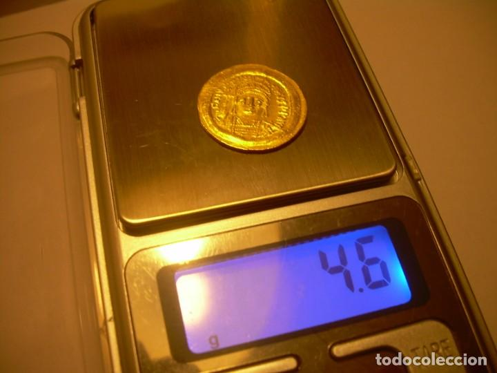 Monedas Imperio Bizantino: MONEDA DE... ORO... BIZANTINA.....SOLIDO JUSTINIANO I....(527-565)...CONSTANTINOPLA. - Foto 9 - 149691270