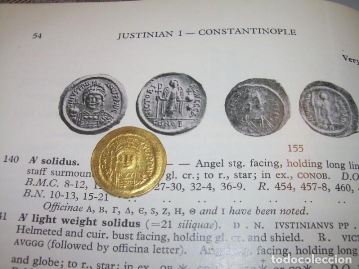 Monedas Imperio Bizantino: MONEDA DE... ORO... BIZANTINA.....SOLIDO JUSTINIANO I....(527-565)...CONSTANTINOPLA. - Foto 12 - 149691270