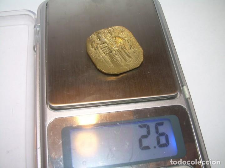 Monedas Imperio Bizantino: MONEDA DE.....(ELEKTRON).. BIZANTINA....JOHN III...(1222-1254)....HYPERPYRON..MAGNESIA - NICEA... - Foto 6 - 149691626
