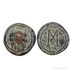 Monedas Imperio Bizantino: JUSTINIANO I, REPRODUCCIÓN DE UN FOLLIS. (843-LM). Lote 150279272