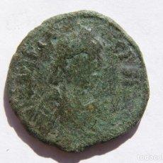 Monedas Imperio Bizantino: ANASTASIO I-491-518. PENTANUMMIUM. MEDIO FOLLIS. Lote 150752230