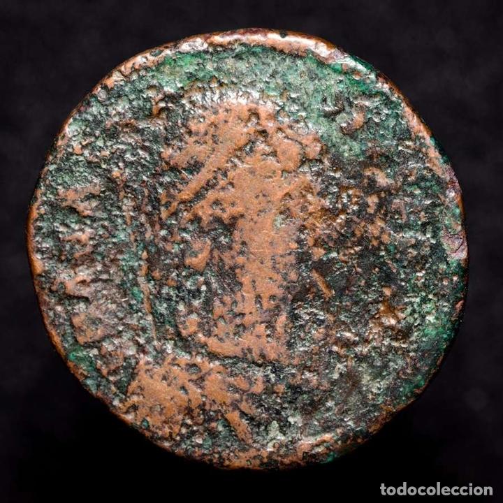 IMPERIO BIZANTINO, BRONCE A CLASIFICAR. (Numismática - Periodo Antiguo - Imperio Bizantino)