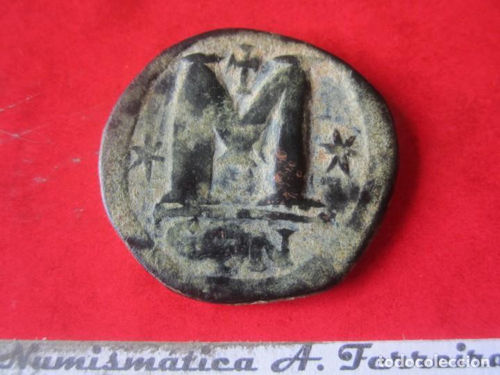 Monedas Imperio Bizantino: Imperio Bizantino. Follis de Anastasio I. 491/518. #mn - Foto 2 - 155744582