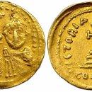 Monedas Imperio Bizantino: SÓLIDO CONSTANS II Y CONSTANTINO IV. SÓLIDO. CONSTANTINOPLA, I (641-668). R/ CRUZ SOBRE 3 GRADAS. Lote 158417297