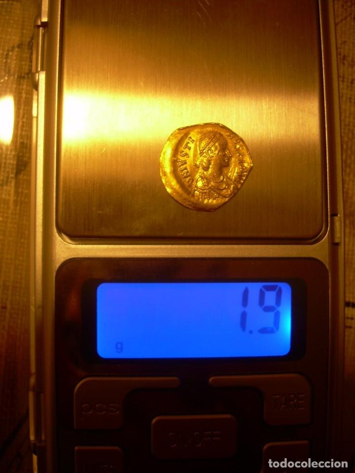 Monedas Imperio Bizantino: TREMISIS DE ORO......JUSTINO II.....(CONSTANTINOPLA). - Foto 10 - 146657594