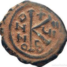 Monedas Imperio Bizantino: IMPERIO BIZANTINO. MAURICIO TIBERIO. 20 NUMMI. Lote 160557054