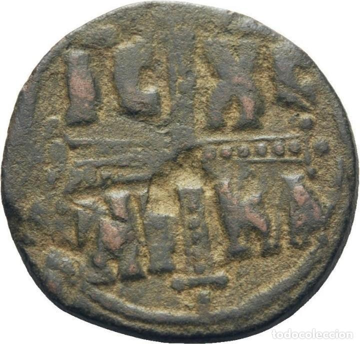 IMPERIO BIZANTINO. MIGUEL IV. FOLLIS. CONSTANTINOPLA (1034-1041 DC) (Numismática - Periodo Antiguo - Imperio Bizantino)
