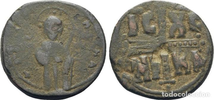 Monedas Imperio Bizantino: IMPERIO BIZANTINO. MIGUEL IV. FOLLIS. CONSTANTINOPLA (1034-1041 dc) - Foto 3 - 160560366