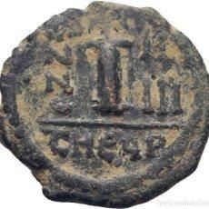 Monedas Imperio Bizantino: IMPERIO BIZANTINO. JUSTINO II Y SOFÍA. 10 NUMMI. CONSTANTINOPLA. Lote 160561538