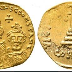 Monedas Imperio Bizantino: SÓLIDO CONSTANS II, WITH CONSTANTINE IV AD 641-668. CONSTANTINOPLE. Lote 168402144