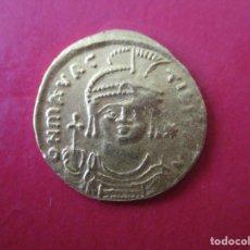 Monedas Imperio Bizantino: IMPERIO BIZANTINO. SOLIDO DE ORO. MAURICIO TIBERIO. 582/602. #SG. Lote 178101830