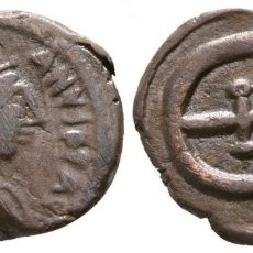 Monedas Imperio Bizantino: JUSTINO II. PENTANUMMI. CONSTANTINOPLA 1,82 G / 15 MM. MBC/MBC+. Lote 178310088