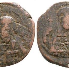 Monedas Imperio Bizantino: ANÓNIMO. FOLLIS. 6,54 G / 27 MM. MBC-. Lote 178310618